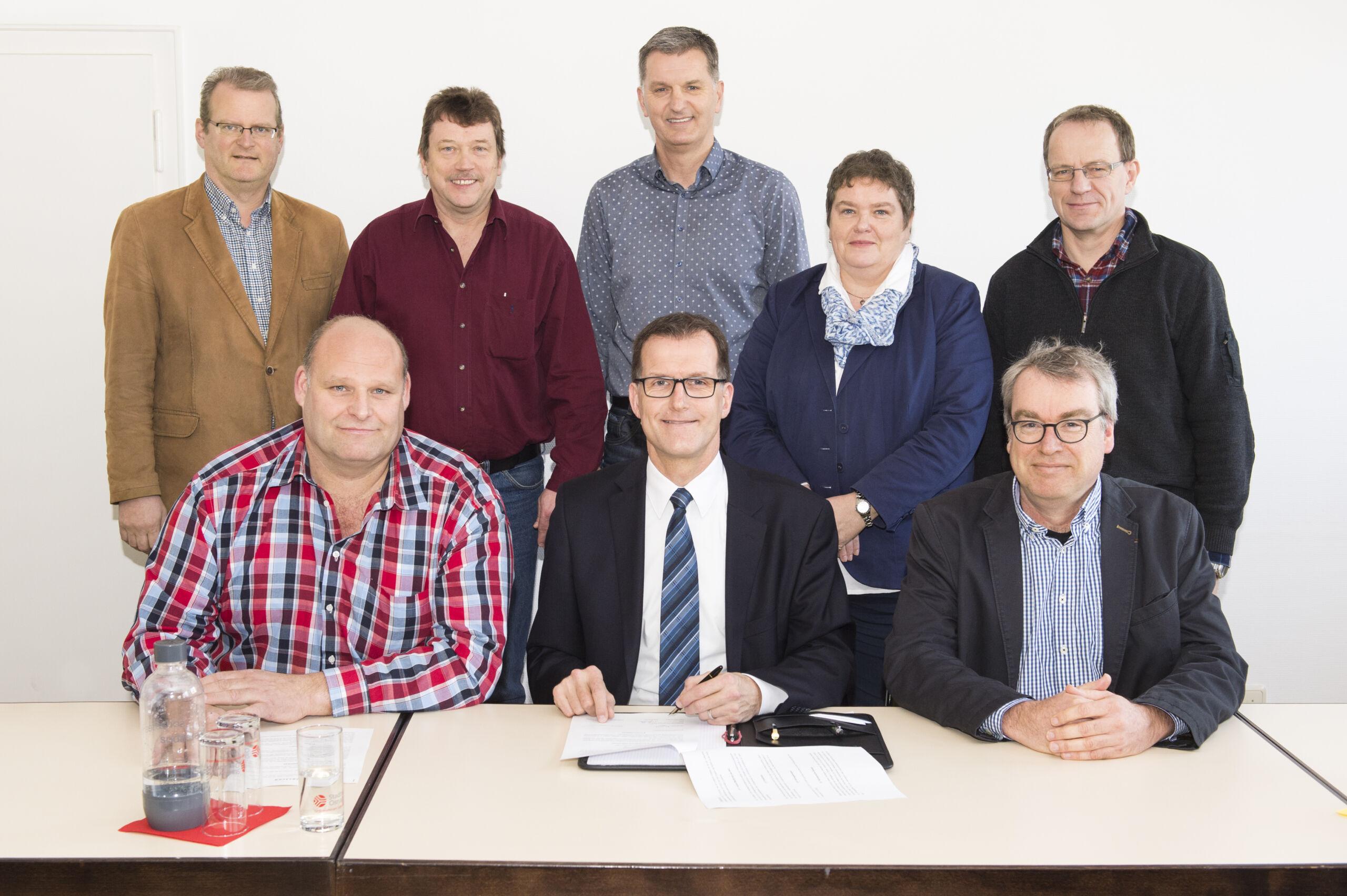 Unterzeichnung der neuen Wasserschutzkooperationsvereinbarung Osnabrück/Wallenhorst